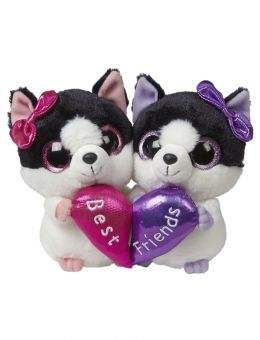 1fd1e18717f 6in BFF Plush Dog YooHoo Set not really beanie boos ( Norah kept one and  gave one to Bridgette )