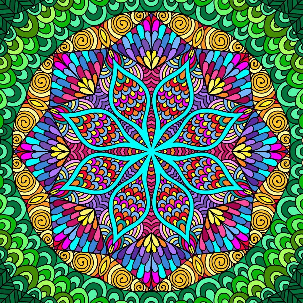 Pin By Nazzia Hussain On Colouring Art Colouring Pics Mandala