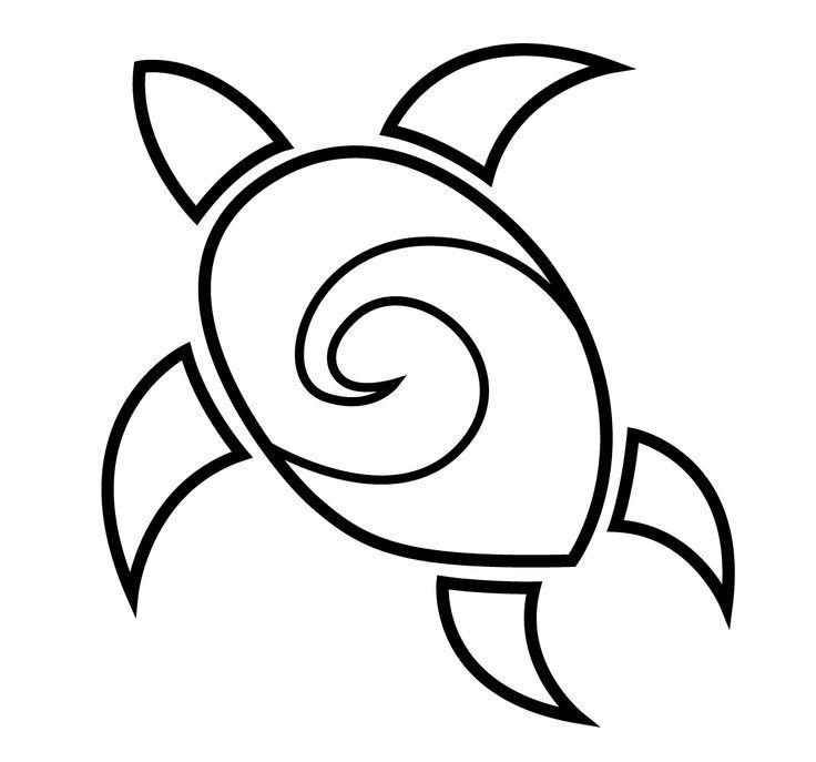 Tattoo Design Simple Turtles Art Tattoo Easy Drawing Tattoos ...
