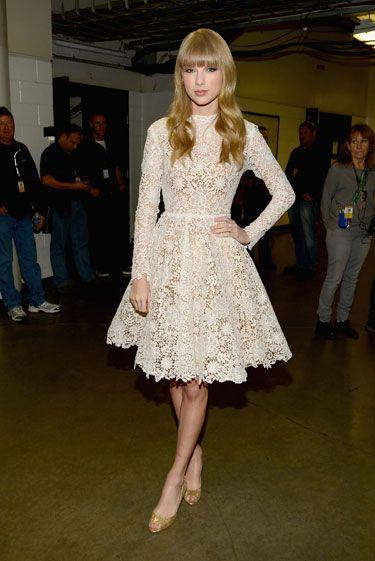#TaylorSwift at Grammy Nomination Announcements - Mr. Blasberg's Best Dressed List: December 30th, 2012