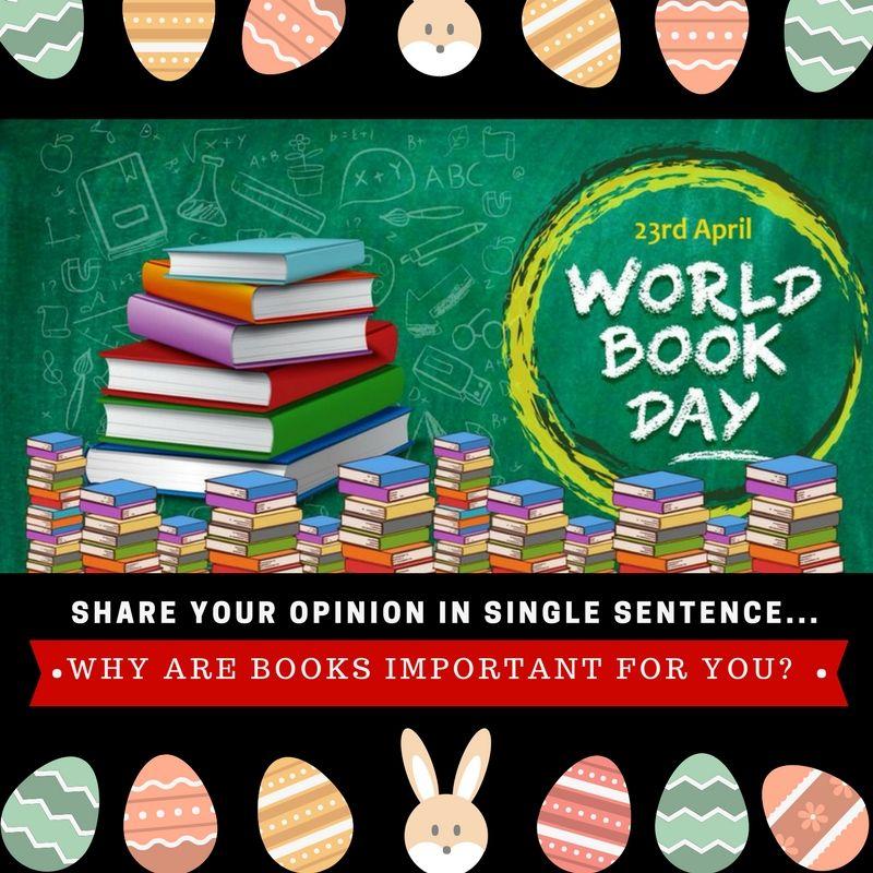 Happy UNESCO WorldBookDay! Celebrate your love for books