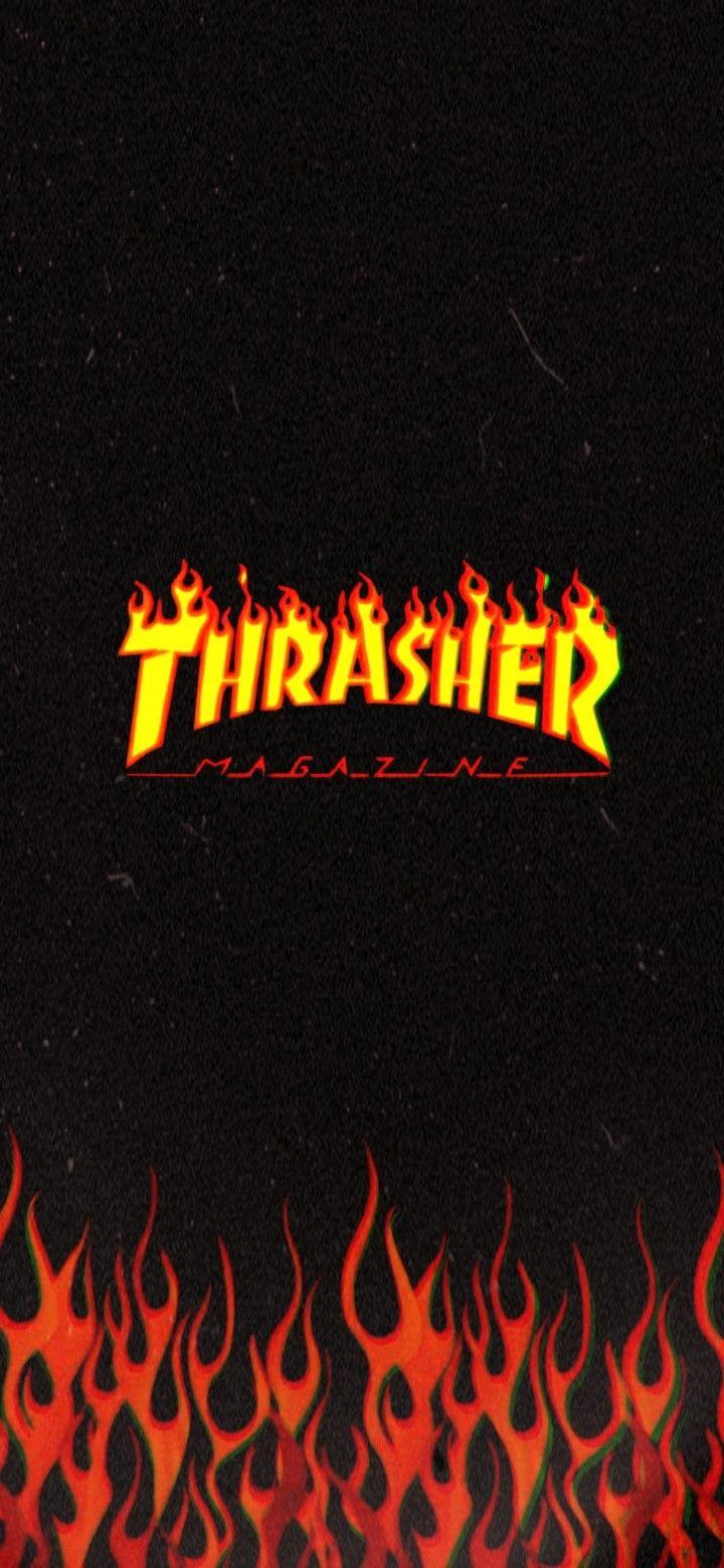 Thrasher Wallpaper ~ | Butterfly wallpaper iphone ...