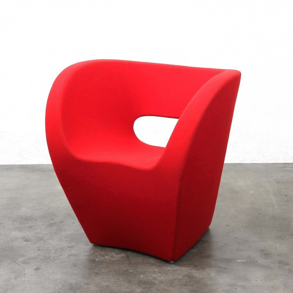 Victoria & Albert lounge chair by Ron Arad for Moroso Italy, 1990s