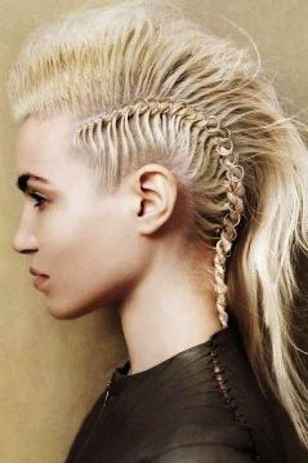 Instrucciones peinados rockeros Imagen de estilo de color de pelo - Neo Trenzas: fotos de los looks - Neo trenzas estilo punk ...