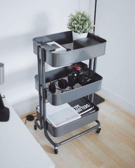 45 Ways To Use IKEA Raskog Cart At Home   ComfyDwelling.com #PinoftheDay #IKEA #raskog #cart #RaskogCart #home