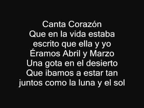 Canta Corazon Alejandro Fernandez Con Letra Youtube