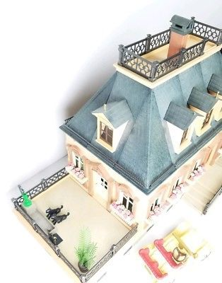 Vintage Playmobil Victorian Dollhouse MANSION Playground House TONS of Extras #victoriandollhouse