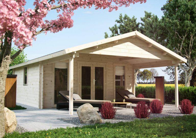 Lillevilla 529 er en gæstehytte i moderne stil. Vindue