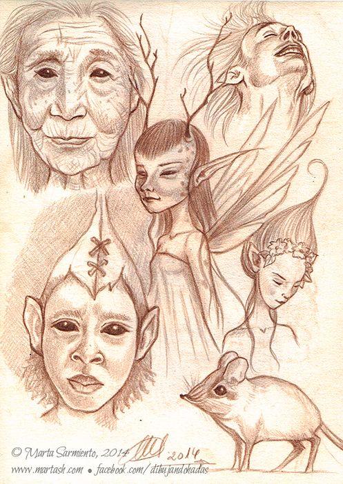 © Marta Sarmiento • www.martash.com • facebook.com/dibujandohadas