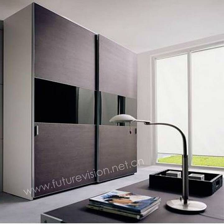 contemporary closet doors for bedrooms | Bedroom: Modern Sliding ...