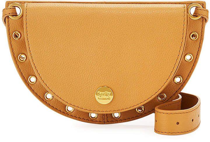See by Chloe Kriss Leather Grommet Crossbody Bag #seebychloe