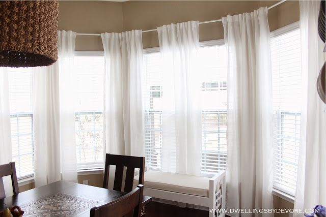 Bay Window Curtains Bay Window Curtains Bay Window Curtain Rod