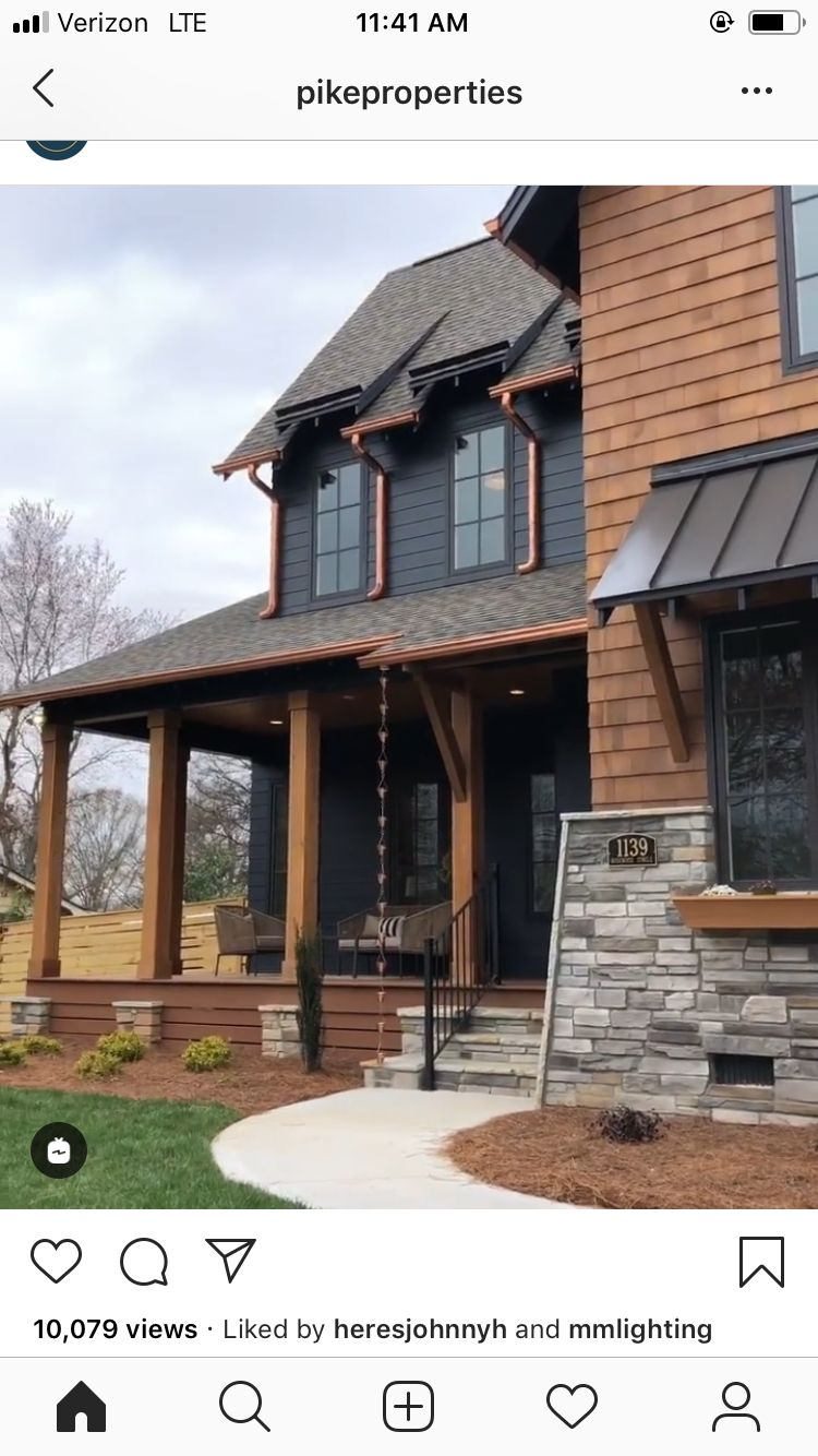 Pin By Angela Frohlich Phipps On For The Home House Exterior Rustic Houses Exterior Modern Farmhouse Exterior