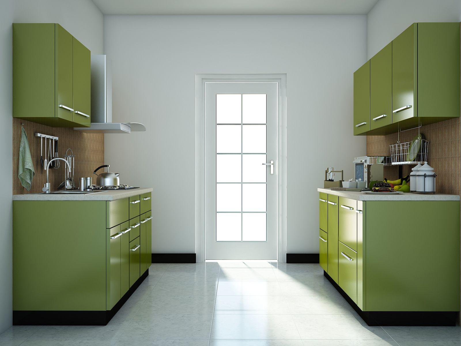 Green Modular Kitchen Designs Kitchen Remodel Layout Kitchen