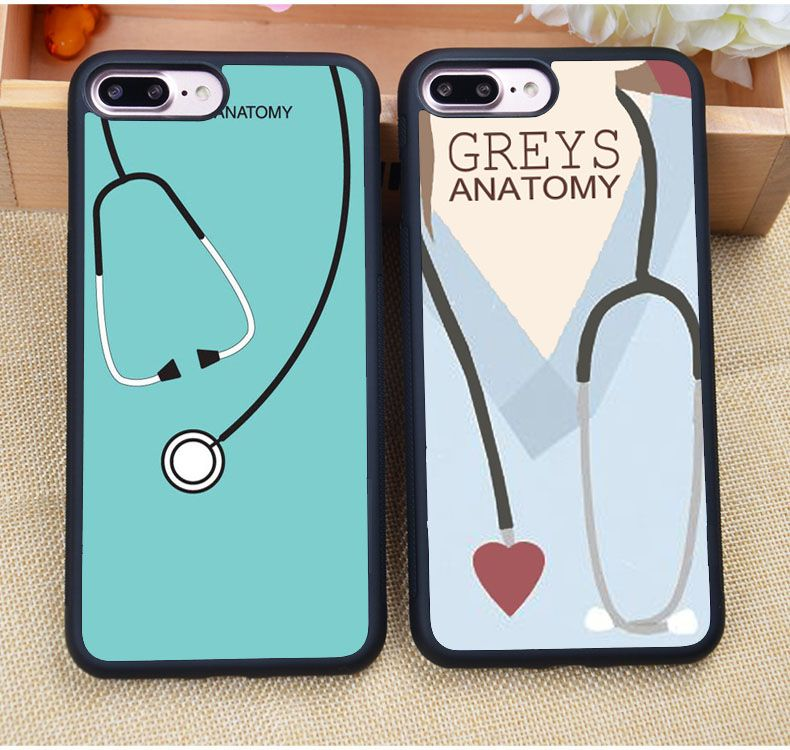 Grey\'s Anatomy TV Series Printed Soft TPU Protective Cell Phone Case ...