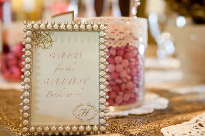 Pink, Lace, & Pearls Bridal Shower