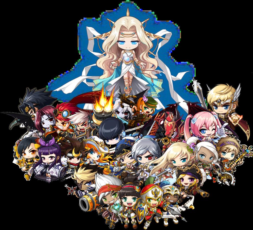 Maplestory characters Anime, Maple story, Chibi