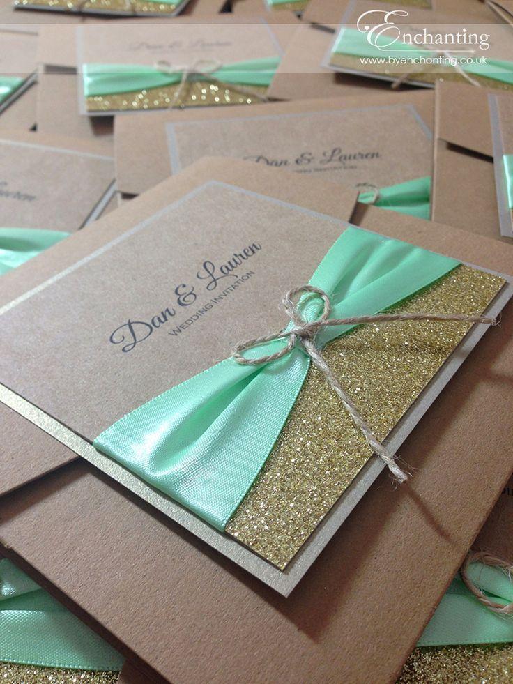 Rustic Wedding Pocketfold Invitation | Featuring \