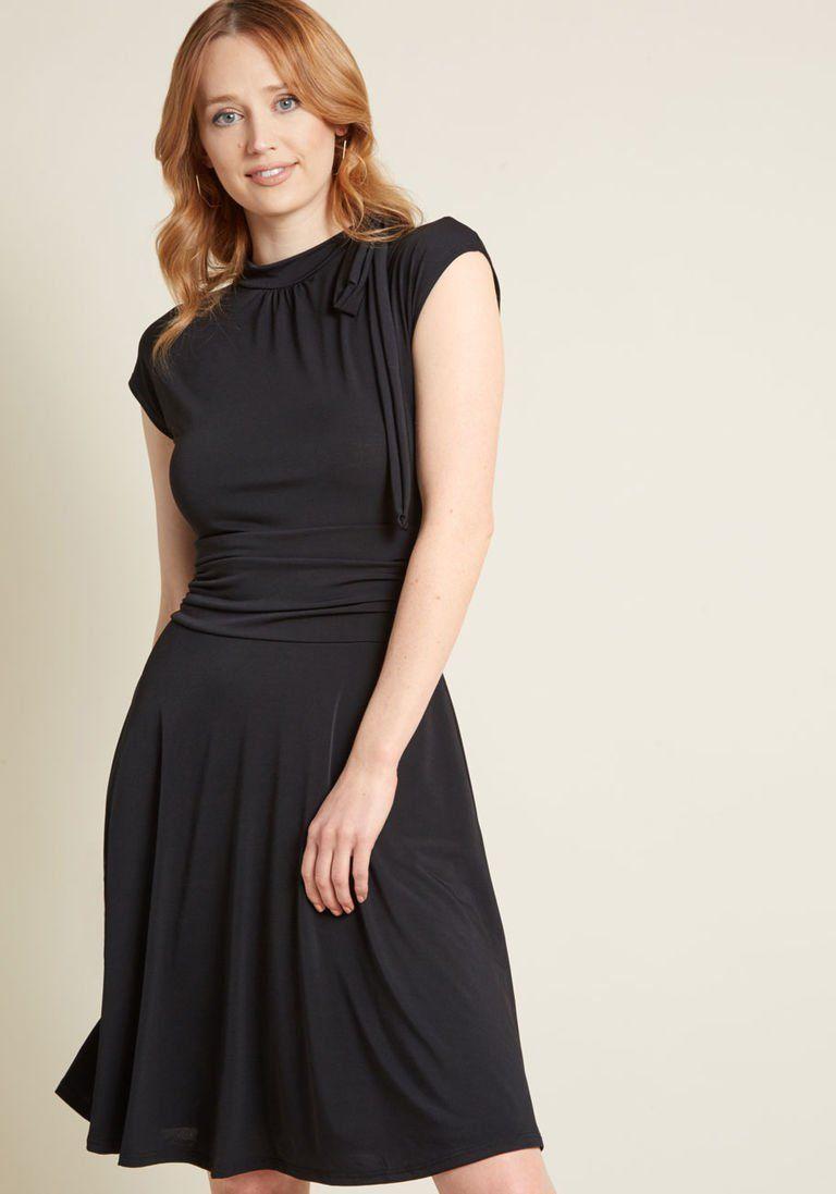 30+ Black a line dress ideas