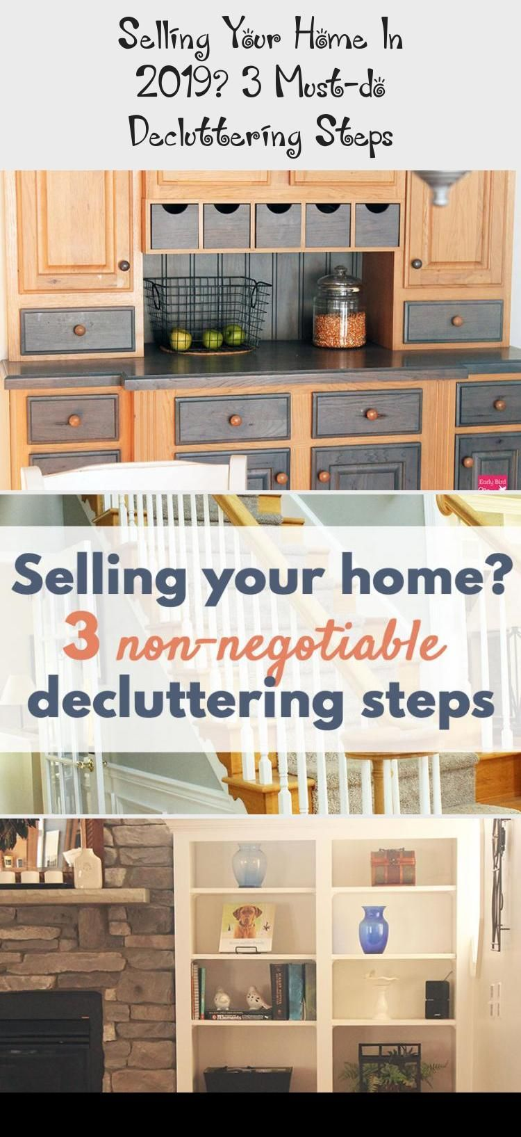Decluttering before moving can help get your home sold