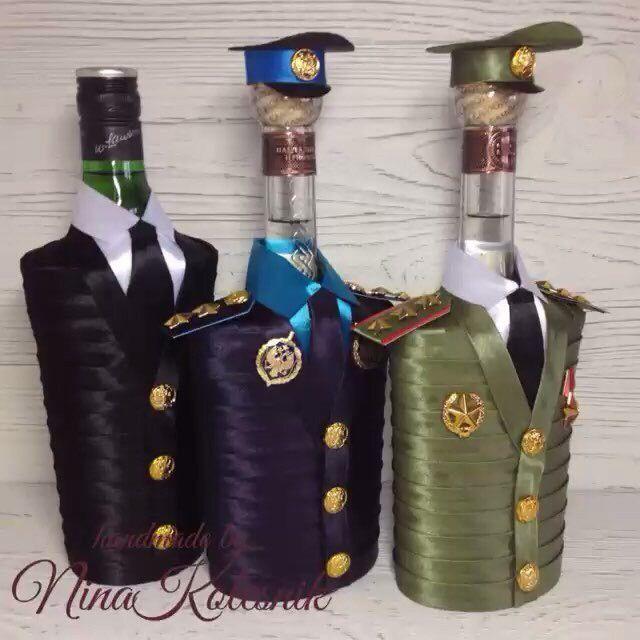 Купить Подарочное оформление бутылок в интернет магазине