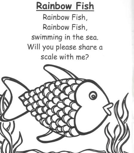Rainbow fish poem
