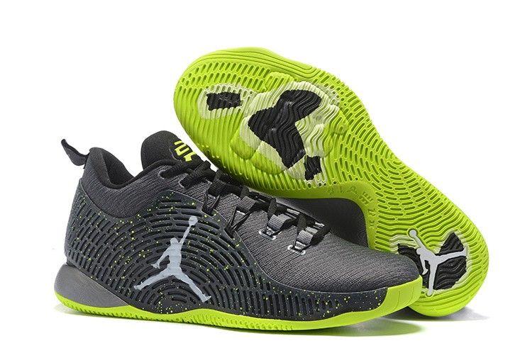 Mens Nike Air Jordan CP3 X Basketball Shoes Fluorescent Gray 57a2afdff