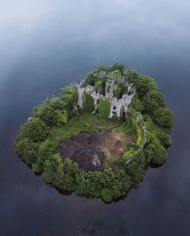 McDermott's Castle Castle Island Lough Key County