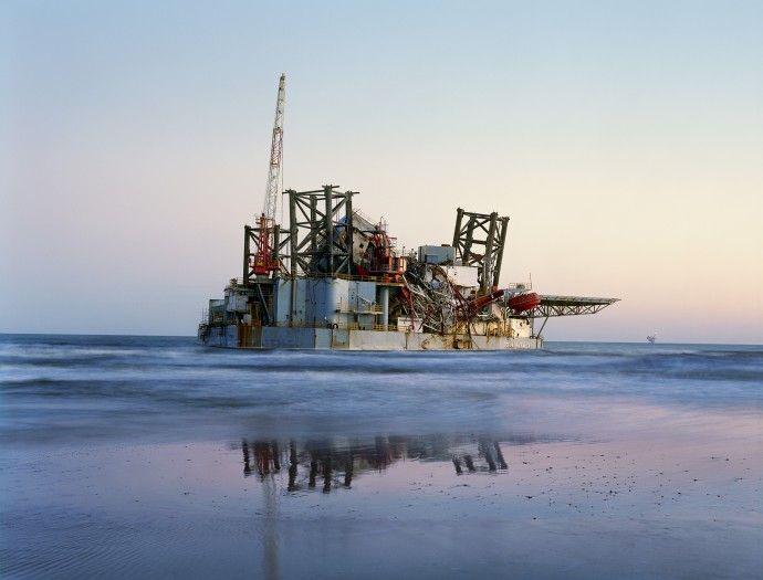 Mitch Epstein    Ocean Warwick Oil Platform, Dauphin Island, Alabama 2005