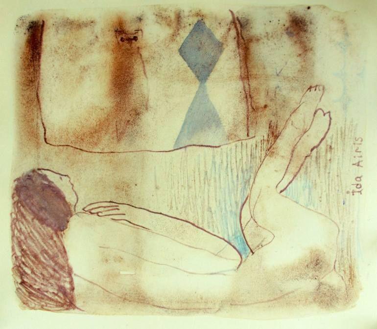 "Saatchi Art Artist Ida Airis; Painting, ""Mongoose"" #art"