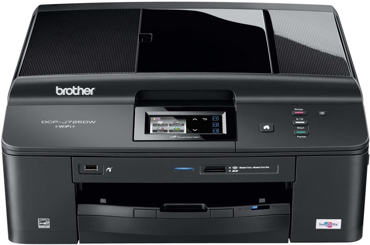 Brother Dcp J725dw Multi Function Printer Brother Mfc Brother Dcp Printing Double Sided