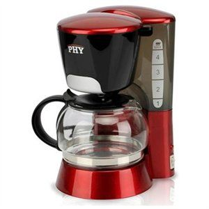 4 Cup Switch Office Home Espresso Coffee Maker Coffeemaker (Red) 1 of 3  #UltraBookStyle