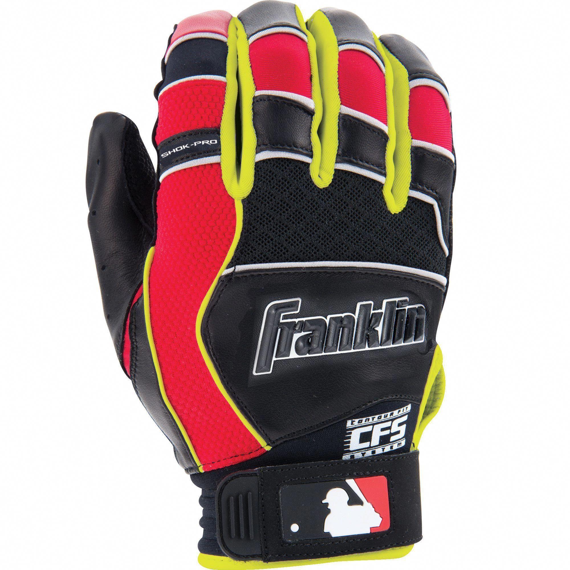 Franklin Sports Adult Shok Pro Batting Glove Youthbaseballgloves