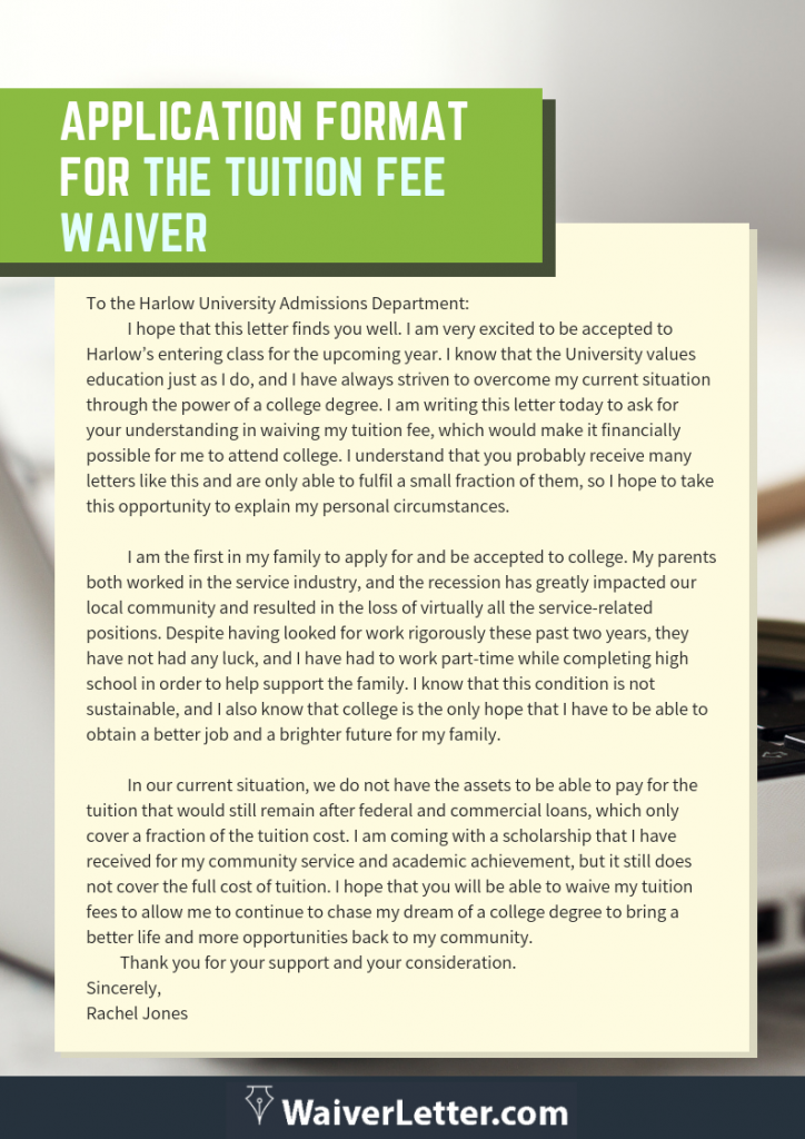 Click here to get the application format for tuition fee