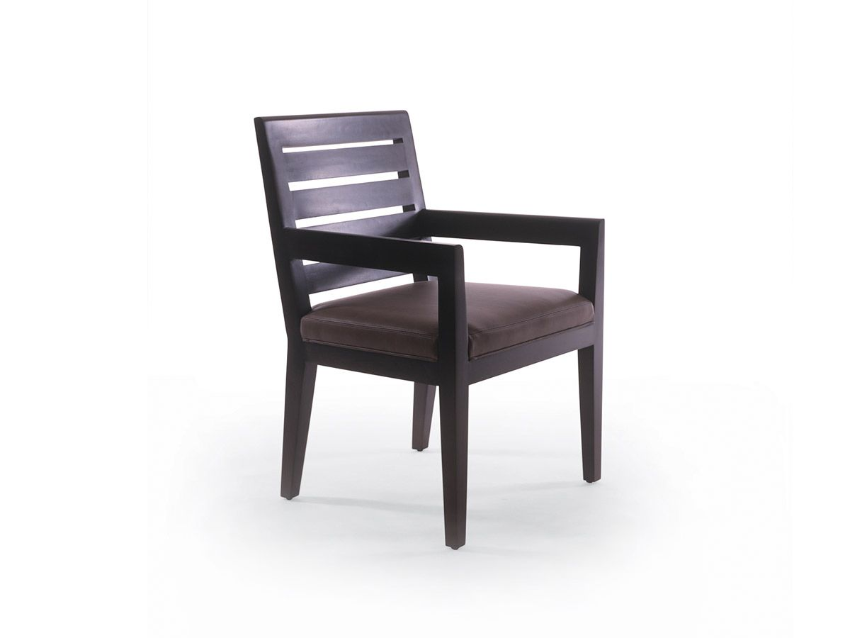 Bright chair graduate arm chair with slat back bright