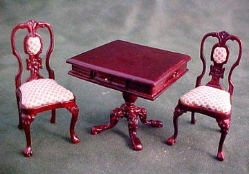 Walnut DIAPER STAND Hansson Miniature 1:24