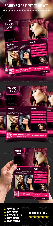 Beauty Salon Flyer - graphicriver sale