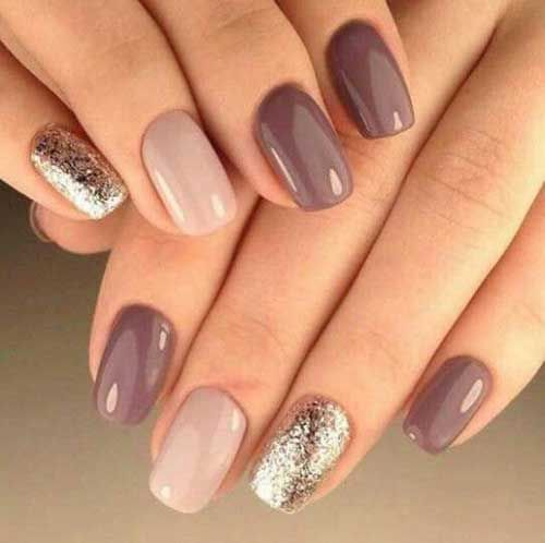 Photo of Simple and short, Nageldesigns for You – 12 | Brief simple the design of …