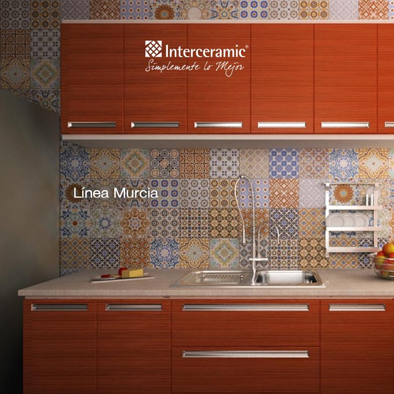 L nea murcia para tu cocina pisos para cocinas - Cocinas con mosaico ...