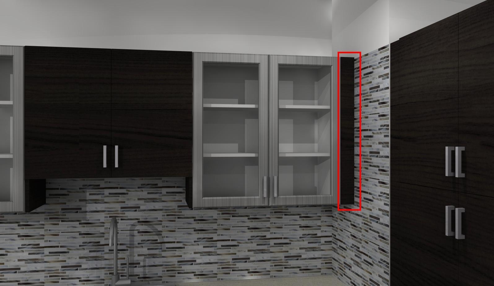 Common Kitchen Design Mistakes Overlooking Fillers And Panels Kitchen Design Design Paneling