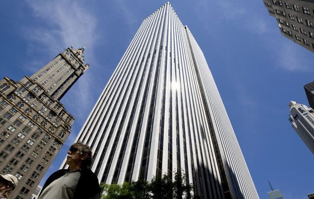 China Investor Said In Talks For Stake In Nyc Gm Building Gm Building Building Stone Architecture