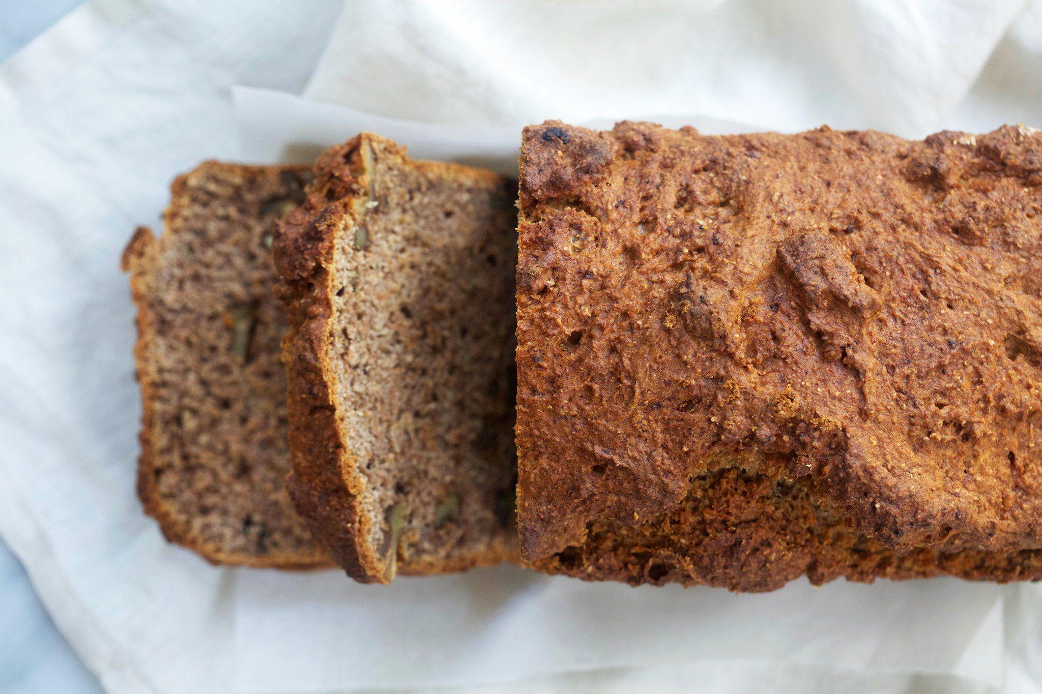 Banana Walnut Bread | Recipe | Banana walnut bread, Low ...