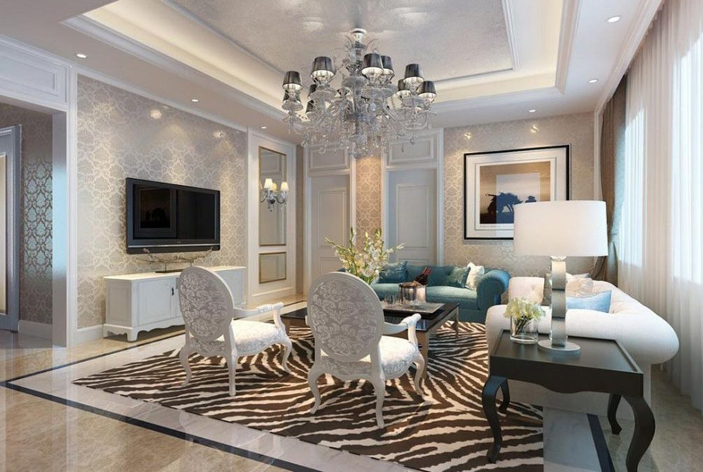 Decorations Accessories Living Room Large Ceiling Chandelier Lamp ...