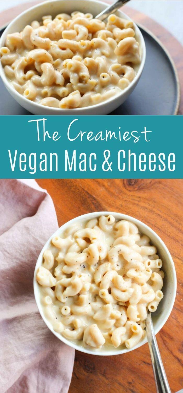 Vegan Macaroni And Cheese Recipe In 2020 Nutritional Yeast Recipes Vegan Lunch Recipes Macaroni And Cheese