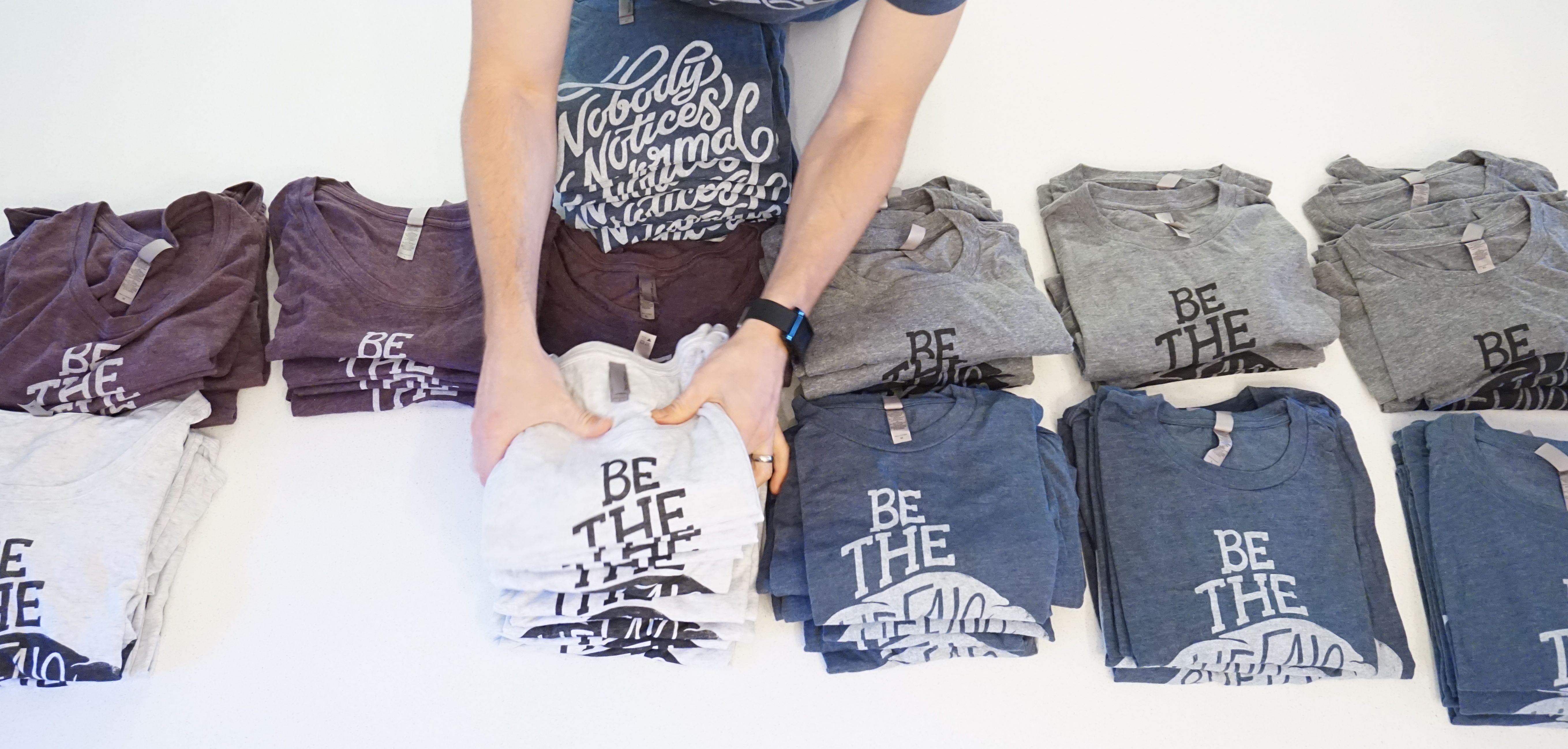 Rebel Apparel  ::  Be the Buffalo Tees