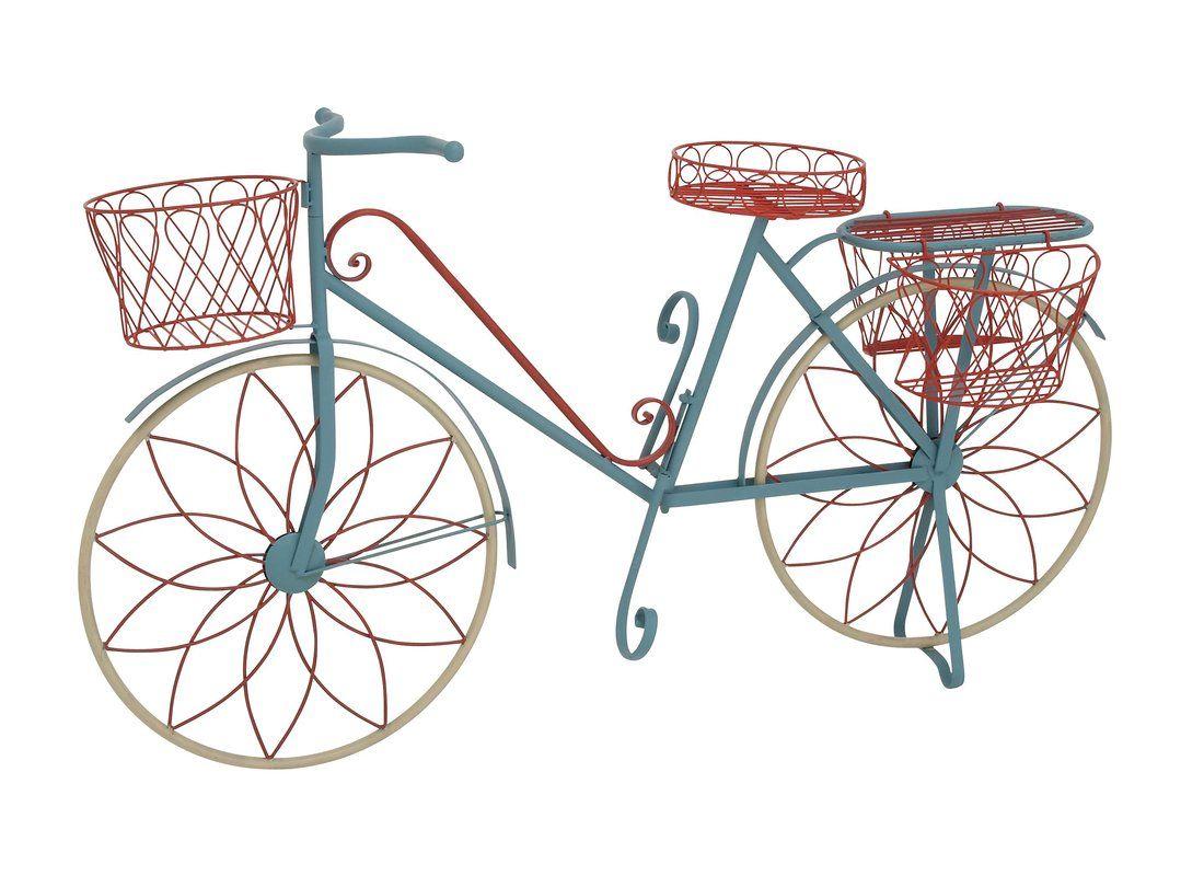 Garden decor bicycle  Lutie Metal Bike Plant Stand  Gardening and lawn decor  Pinterest