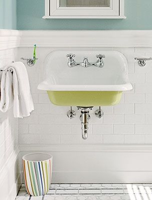 BudgetSmart Bath Updates Cove Molding Wainscoting And Baseboard - Bathroom updates on a budget
