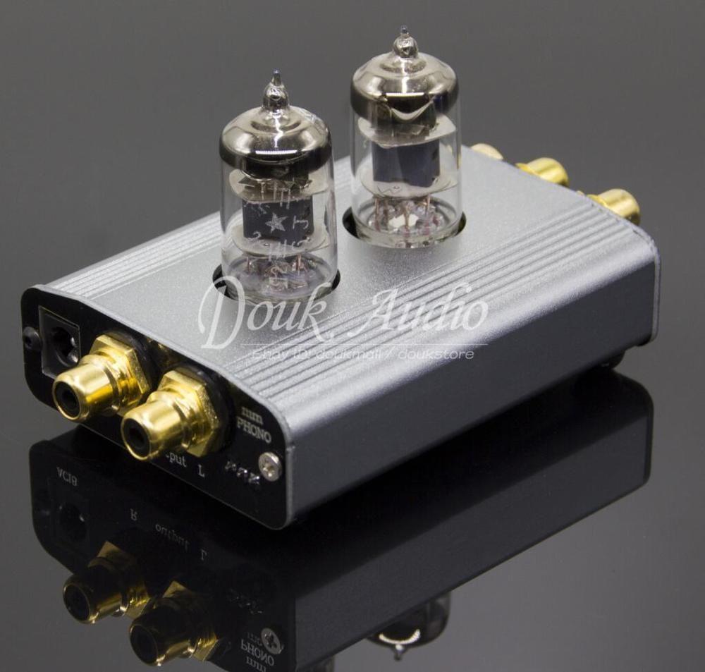 Douk Audio 6J1 Tube Phono Preamp MM RIAA Turntable HiFi