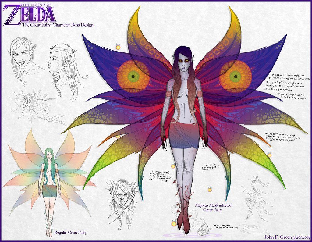 Tloz Majoras Mask Ii Great Fairy Boss By Verde13 Deviantart Com On Deviantart Legend Of Zelda Memes Zelda Art Zelda Hyrule Warriors