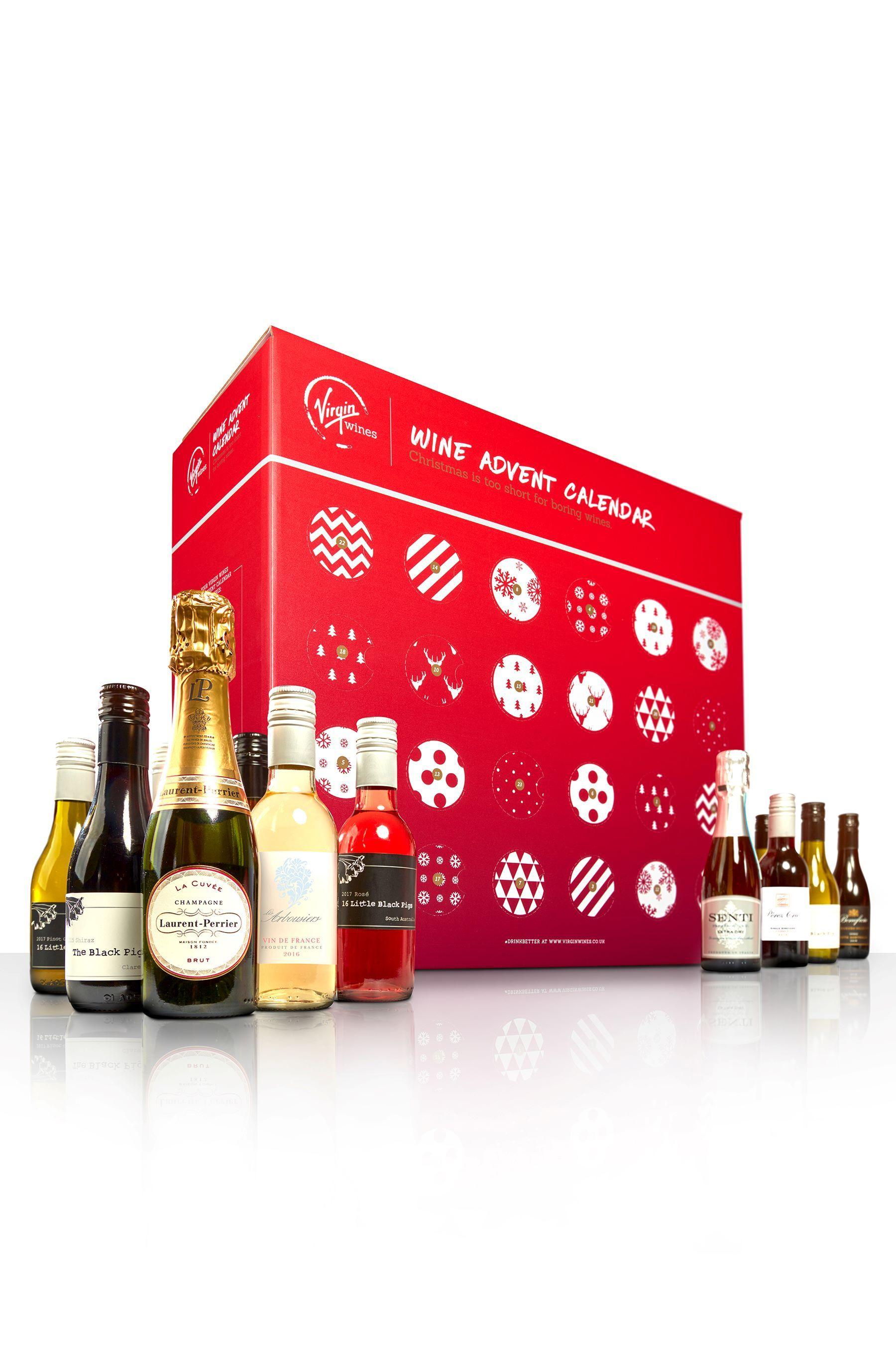 Virgin Wines Advent Calendar.Virgin Wines Mixed Wines Advent Calendar Products Wine Advent